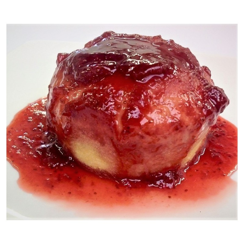 Traditional Jam Steamed Pudding