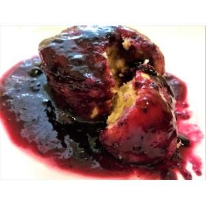 Black & Blue Gluten & Wheat Free Steamed Pudding